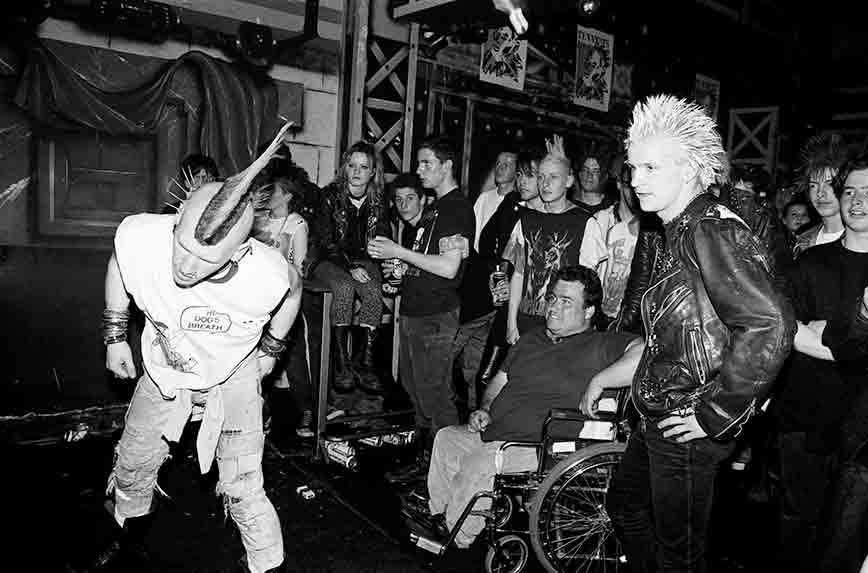 Punks at Charlies Dublin